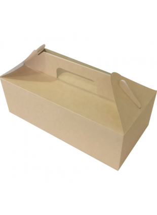 Kraft DoEco Lunchbox 28,7x14,2x9,8 cm 4L 25db/cs 200db/krt